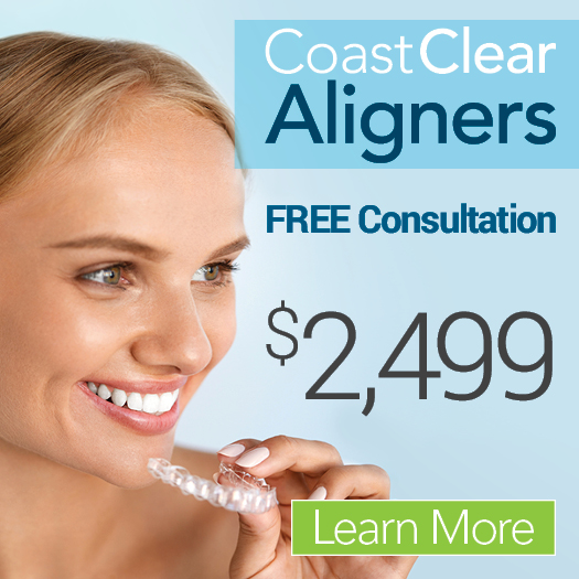 FREE Consultation^* CoastClear Aligners
