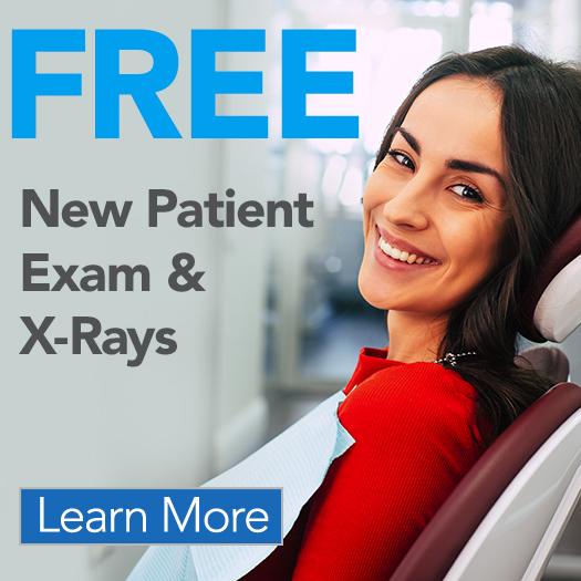 FREE New Patient Exam & X-Rays Offer