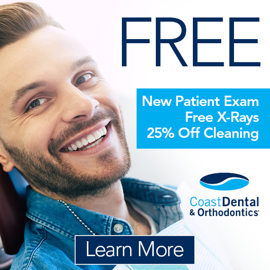 Free New Patient Exam, X-Rays & 50% Off Cleaning*