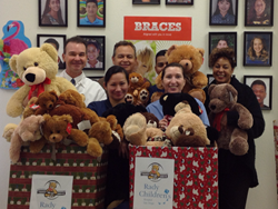 SmileCare Team, Patients Donate Almost 200 Teddy Bears to Help Children Smile
