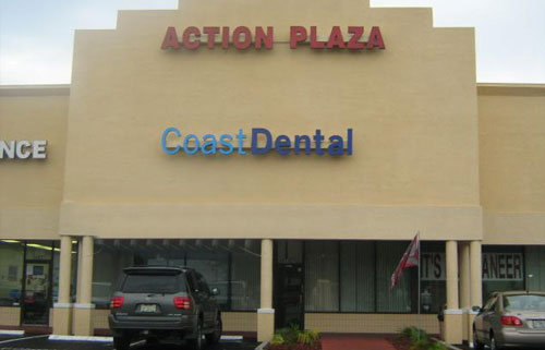 Coast Dental Action Plaza | Dentists in North Tampa